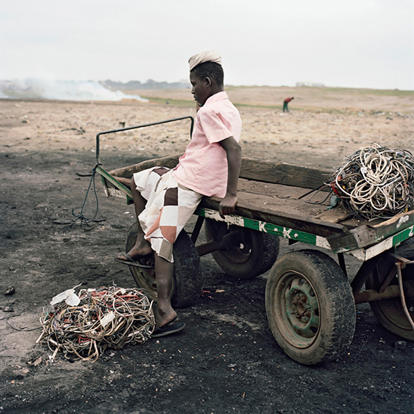 Amama Suleiman, Agbogbloshie Market, Accra, Ghana, 2009From the