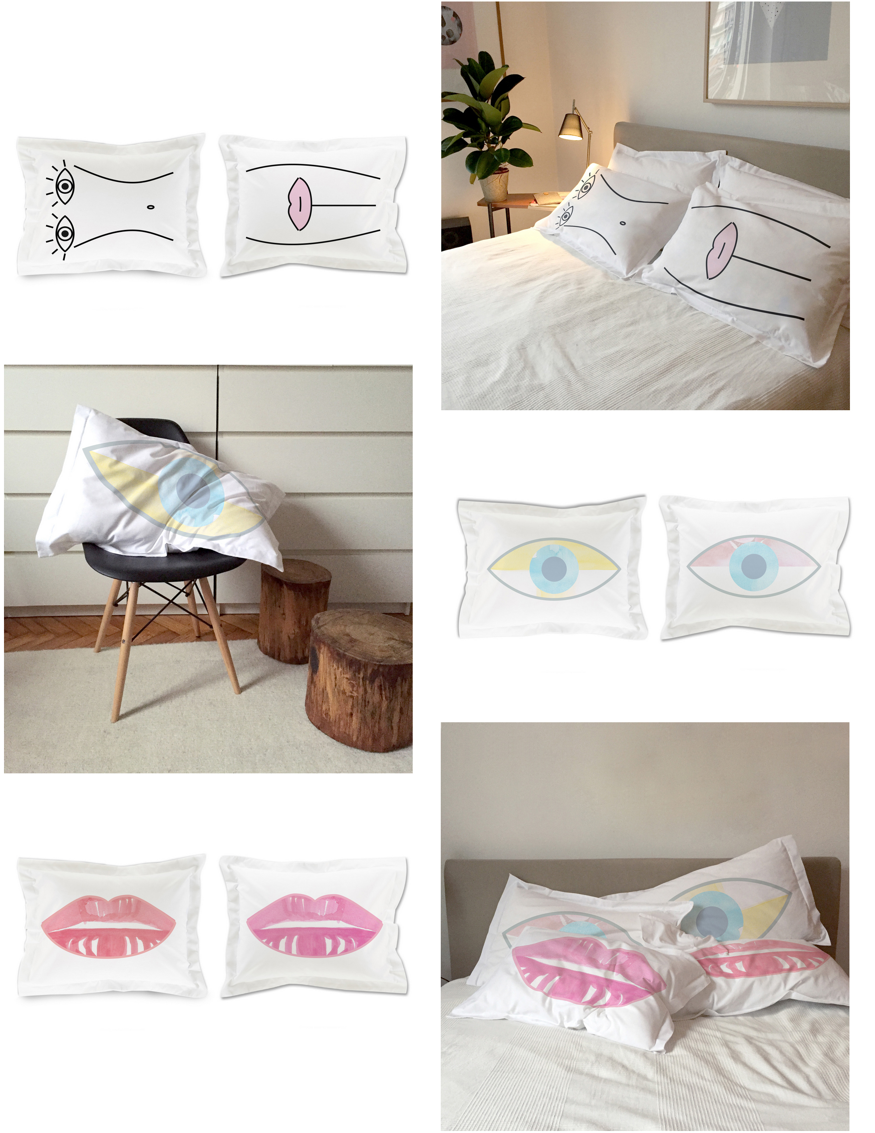 SLOW SOUP PILLOW CASES